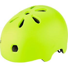 TSG Meta Solid Color Kask rowerowy, satin acid yellow